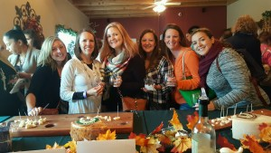 group in winery