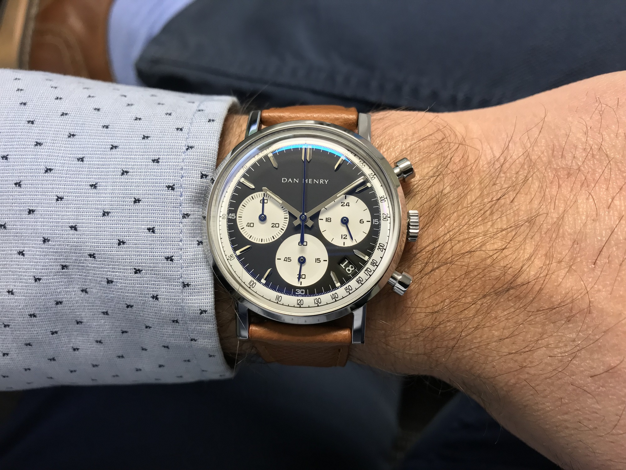 Dan Henry Watches 1964 Gran Turismo Chronograph Review