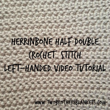 Herringbone half double crochet stitch and herringbone half double i have a few patterns that use the herringbone half double crochet stitch as the main stitch so i thought it was high time i make a video tutorial for it dt1010fo