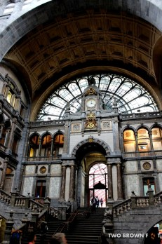 Stunning Architecture of Central Station - Antwerp