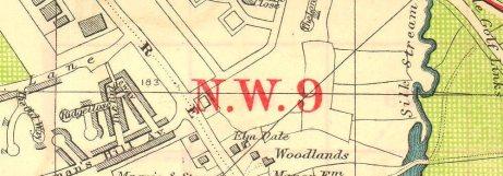 nw-london-hendon-aerodrome-kingsbury-green-the-hyde-bacon-1928-vintage-map-2-261858-p