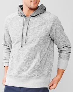 GAP-Urban-Active-contrast-mixed-media-hoodie