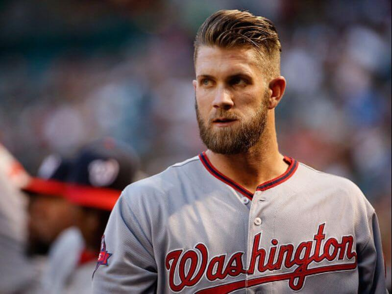 Bryce Harper Gets Corn Rows To Ensure We Will Never Stop Talking