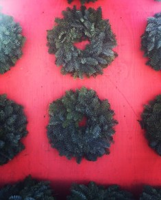 2BD - Georges_wreath wall