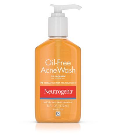 Neutrogena Oil-Free Acne Wash, $6.49