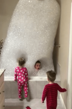 Dad Makes the BEST Bubble Bath of All Time, Automatically Becomes Father of the Year