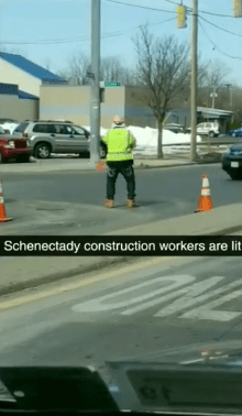 The Viral Video of the Dancing Construction Worker in Schenectady Provides a Lesson in Enjoying Life