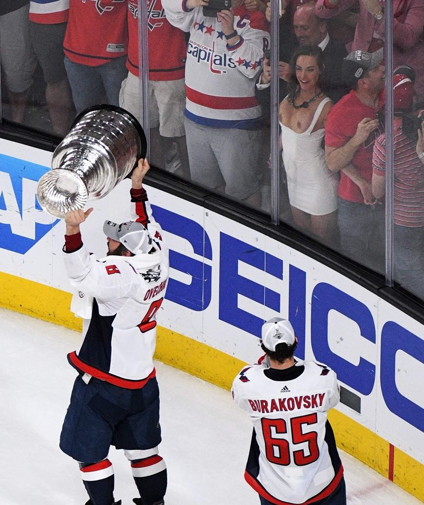 Fan Goes TOFTB to Celebrate Ovechkin's First Stanley Cup Victory