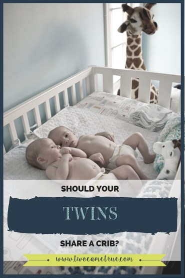 should your twins share a crib?