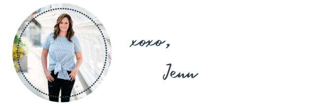 xoxo, Jenn
