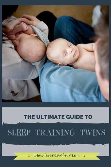 The ultimate guide to sleep training twins is the perfect series of blog post that walks you through gently successfully sleep training your twins.