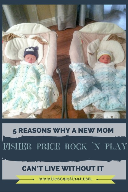 Why a new mom can't live without the Fisher Price Rock n' Play