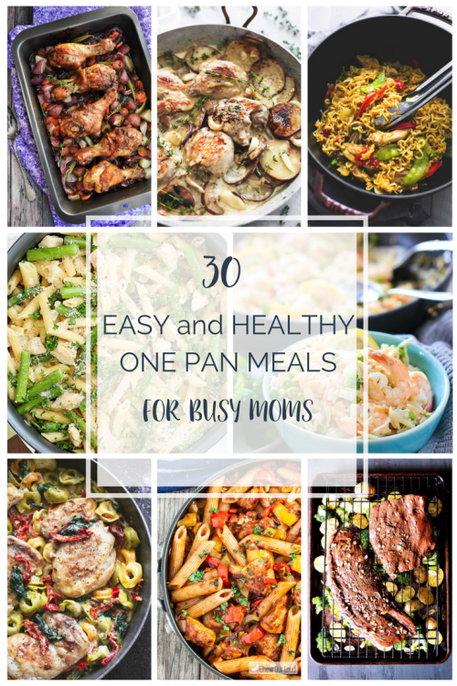 one pan meals for busy moms