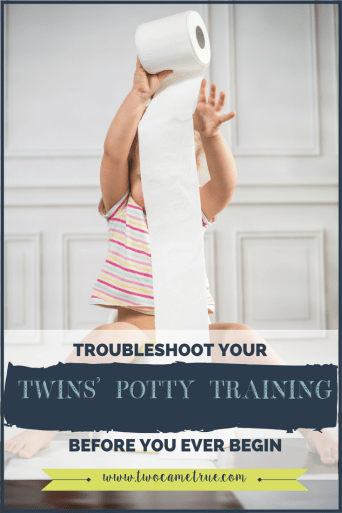 troubleshoot your twins potty training