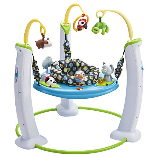 aaf23f4301aa Evenflo Exersaucer Jump and Learn Stationary Jumper