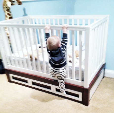 what to do when your toddler learns to escape the crib