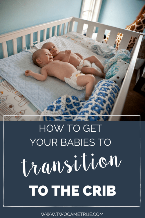 how to get your babies to transition to the crib