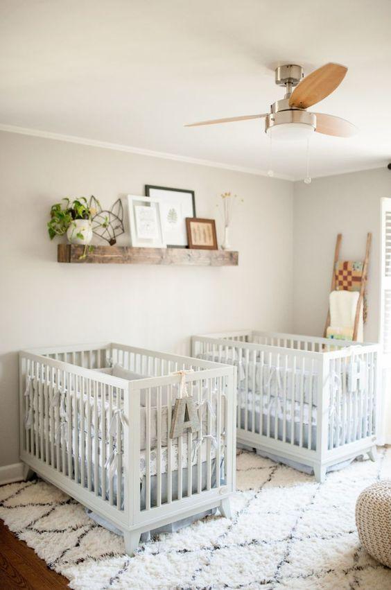 30 Ideas For Creating Your Twin Nursery Two Came True