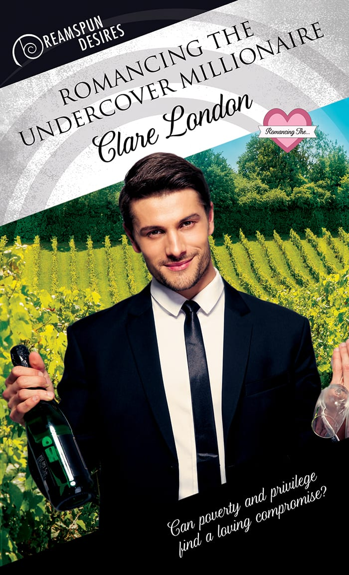 Romancing The Undercover Millionaire by Clare London: RB, Excerpt, Release Day Review and Giveaway
