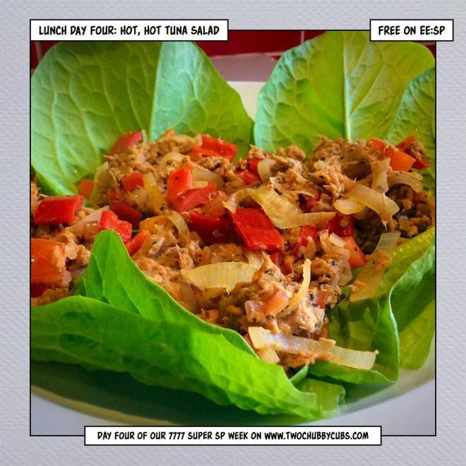 hot hot tuna salad