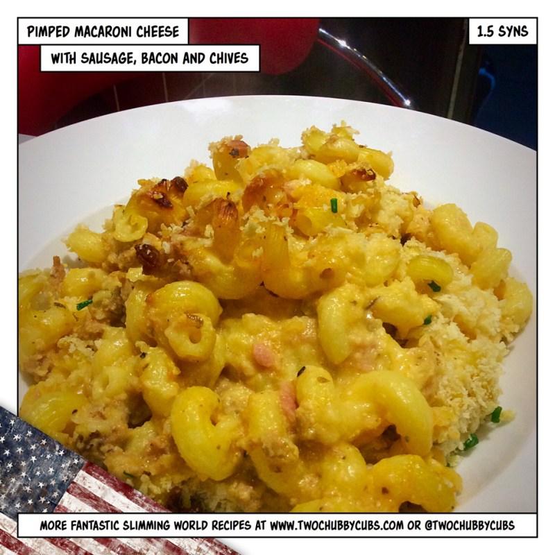 pimped macaroni cheese