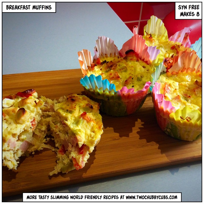 slimming world breakfast muffins