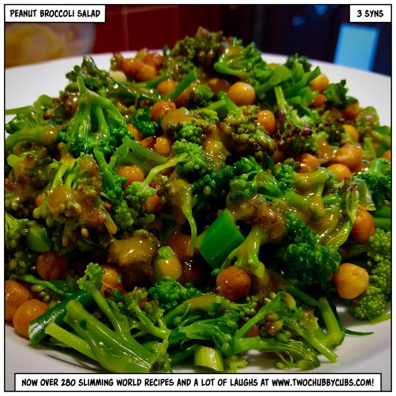 peanut broccoli salad
