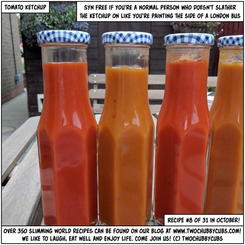 syn-free tomato ketchup