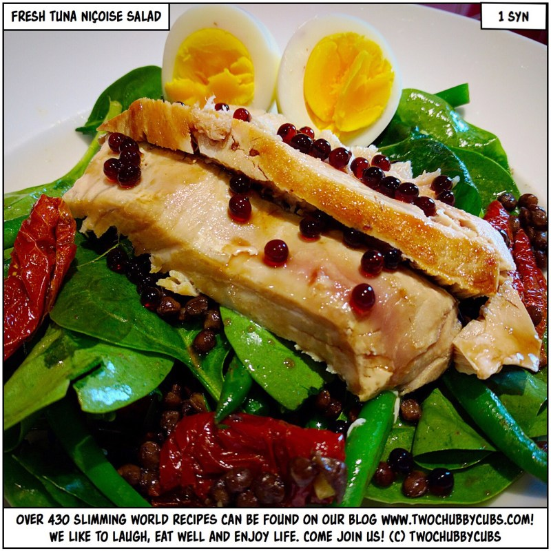 fresh tuna niçoise salad