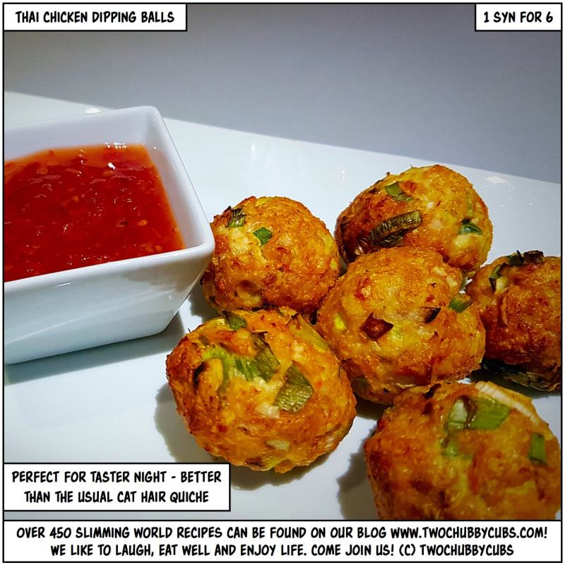 chicken dipping balls