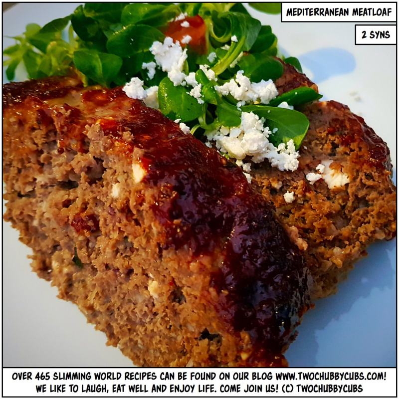 TWO SYN MEDITERRANEAN MEATLOAF