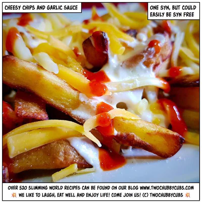 cheesy garlic sauce