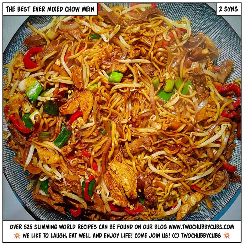 mixed chow mein