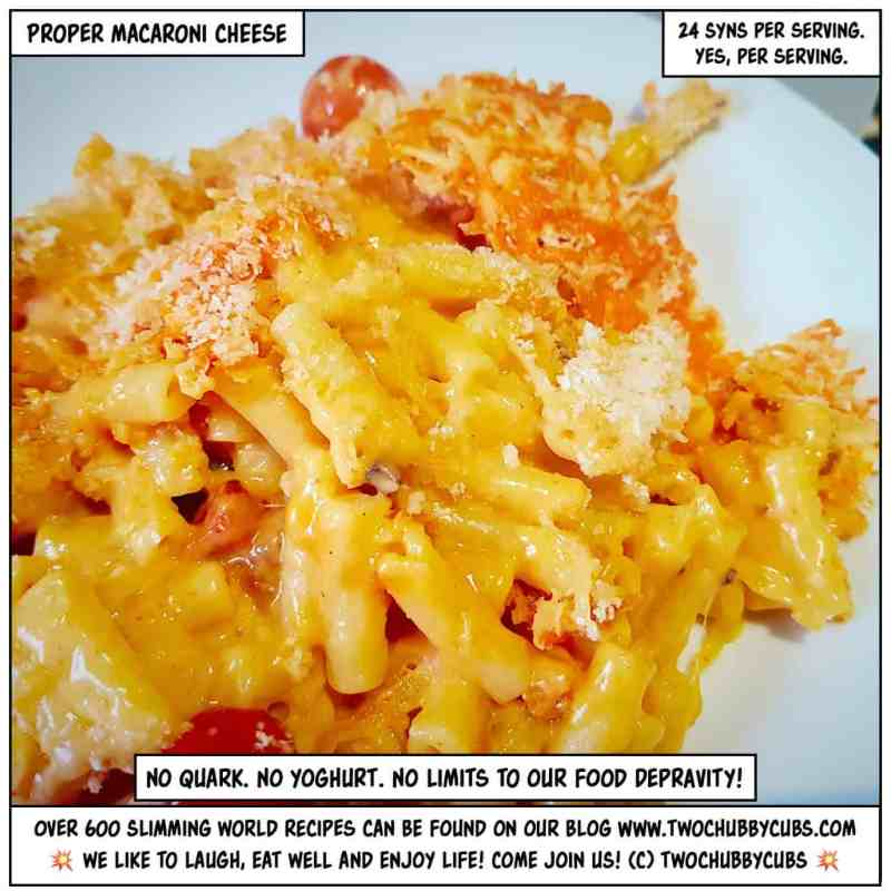 proper macaroni cheese