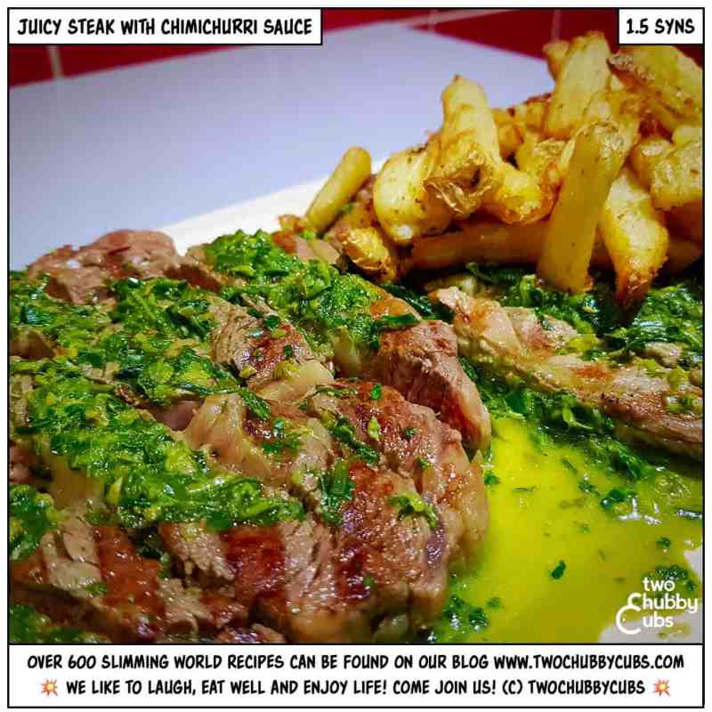 slimming world chimichurri