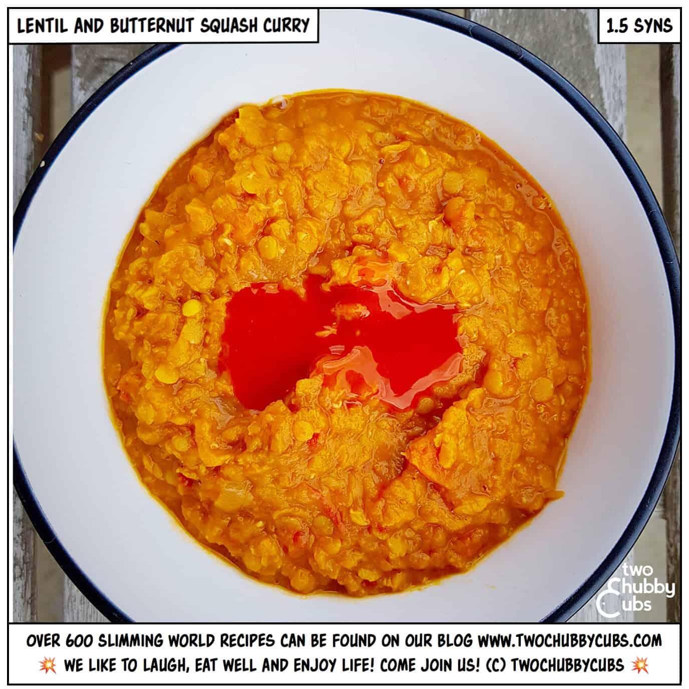 Lentil Butternut Squash Curry