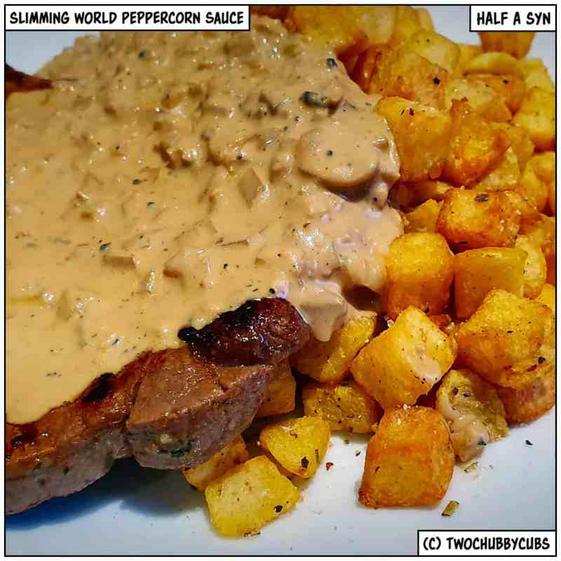 Slimming World peppercorn sauce