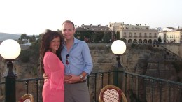 Roaming around Ronda for our Silver Wedding Anniversary