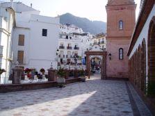 The mountain village of Cómpeta, southern Spain