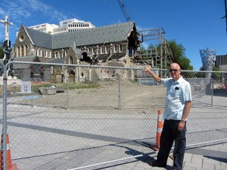Christchurch, New Zealand - post earthquake