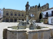 Lion fountain in Baeza