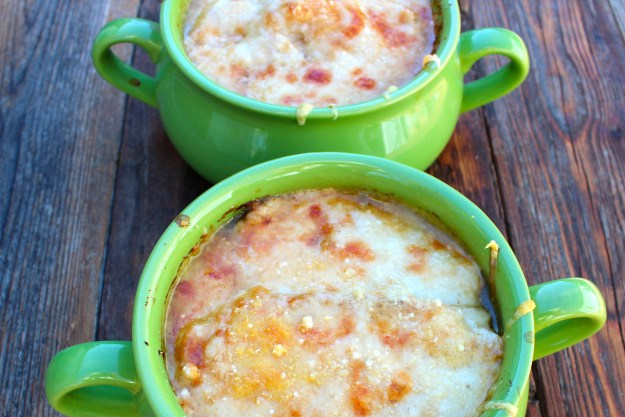 French Onion Soup http://twocooksonepot.com