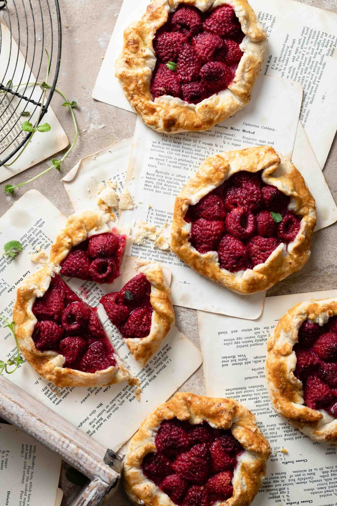 Homemade Raspberry Tarts recipe.