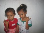 Septi and Dwi's sisters