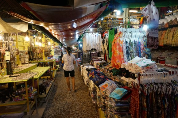One of the night markets - we left quite a few dollars here.