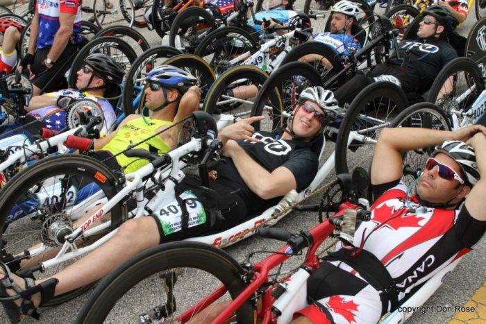 Matt Fritsch Hand Cycle