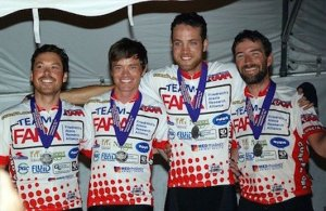 TeamFARA RAAM Finish