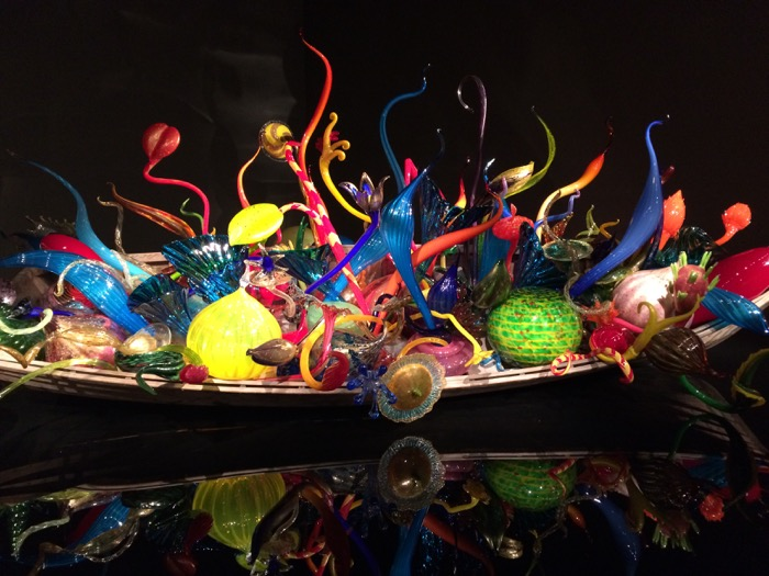 Chihuly Garden and Glass Ikebana and Float Boats