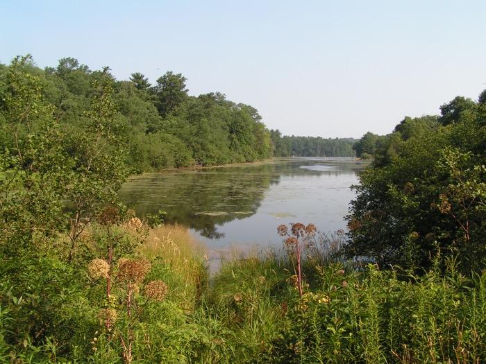 Mirror Lake in Mirror Lake State Park