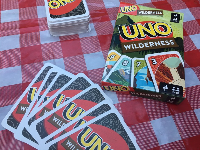 UNO Wilderness Edition Card Game